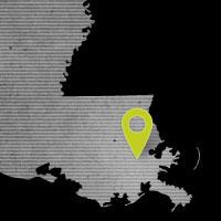 New Orleans, LA Map