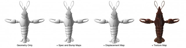 Mapping layers on Crawfish Model