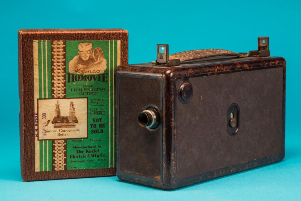 Kemco HoMovie 16mm camera c1929